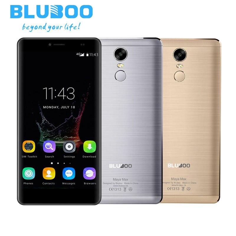 Bluboo maya max mt6750 quad core mobile phones 6.0 pulgadas ram 3G ROM 32G Andro