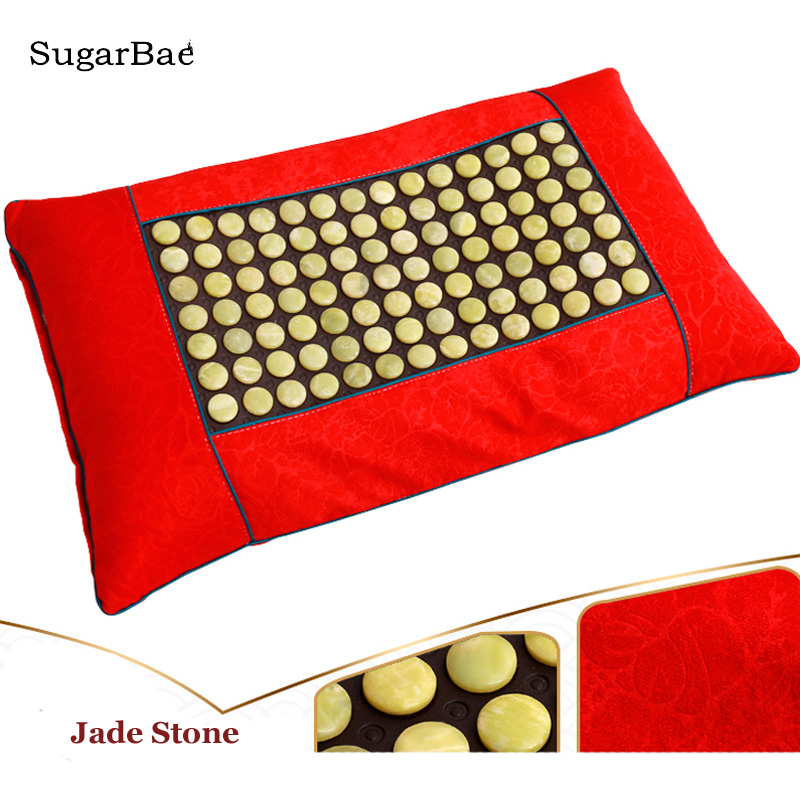 Health Pillow Jade Pillow for Neck Pain/Stress Relief Massager Tourmaline Healthcare Cushion for Sale Health Pillow Jade Pillow for Neck Pain/Stress Relief Massager Tourmaline Healthcare Cushion for Sale