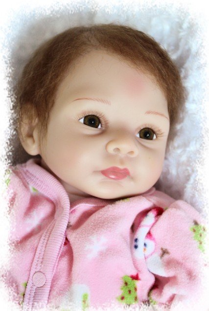 NEW hot sale lifelike reborn baby doll very soft silicone vinyl popular doll Christmas gift old gift like snow girl newest graphtec cb09 silhouette cameo holder 15pcs blades vinyl cutter plotter 30 degree hot sale