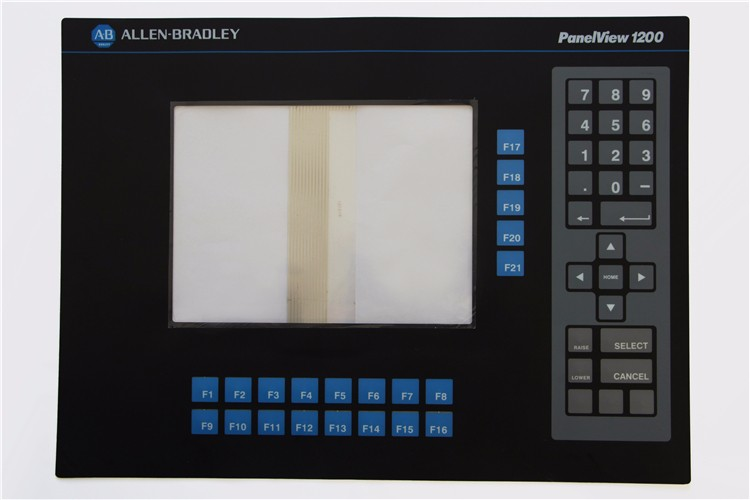 2711-TC1 2711TC1 series membrane keypad for Allen Bradley PanelView 1200 Micro series, FAST SHIPPING 2711p k10c4a7 2711p b10 2711p k10 series membrane switch for allen bradley panelview plus 1000 all series keypad fast shipping