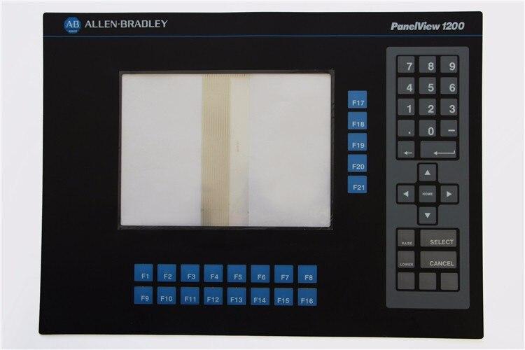 2711-TC1 2711TC1 série clavier à membrane pour Allen Bradley panel 1200 Micro série, expédition rapide