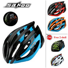 SAHOO Bicycle Helmets Men Women Helmet Back Light Mountain Road Bike Integrally Molded Cycling Helmets Safety helmet shell