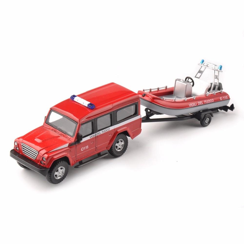 Kids toys MONDO MOTORS 1/43 Red Jeep Vigili Del Fuoco Fire Rescue Red Vehicles Car 53131