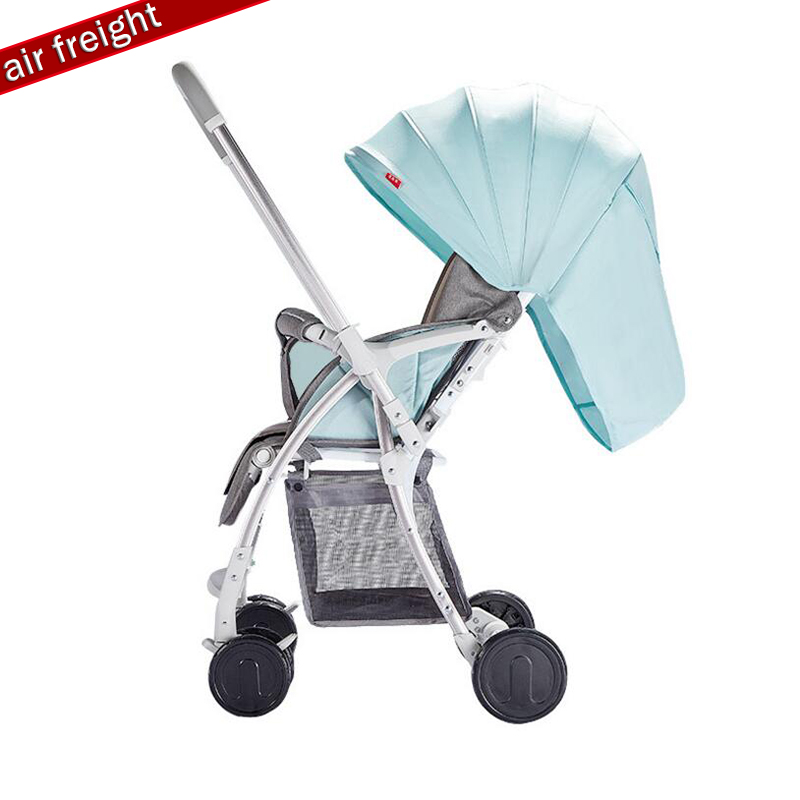 2019 latest two-way trolley, can sit, can lay high landscape lightweight folding stroller, newborn baby - 3 years old baby suita2019 latest two-way trolley, can sit, can lay high landscape lightweight folding stroller, newborn baby - 3 years old baby suita