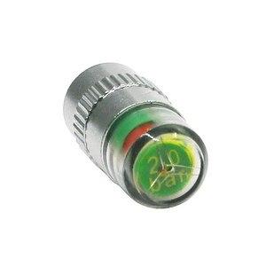 Image 2 - 4 pçs sensor de pressão dos pneus do carro 2.2 2.4 2.5 barra válvula tampa da haste alarme pressão dos pneus ar alerta kit ferramentas monitoramento pressão dos pneus
