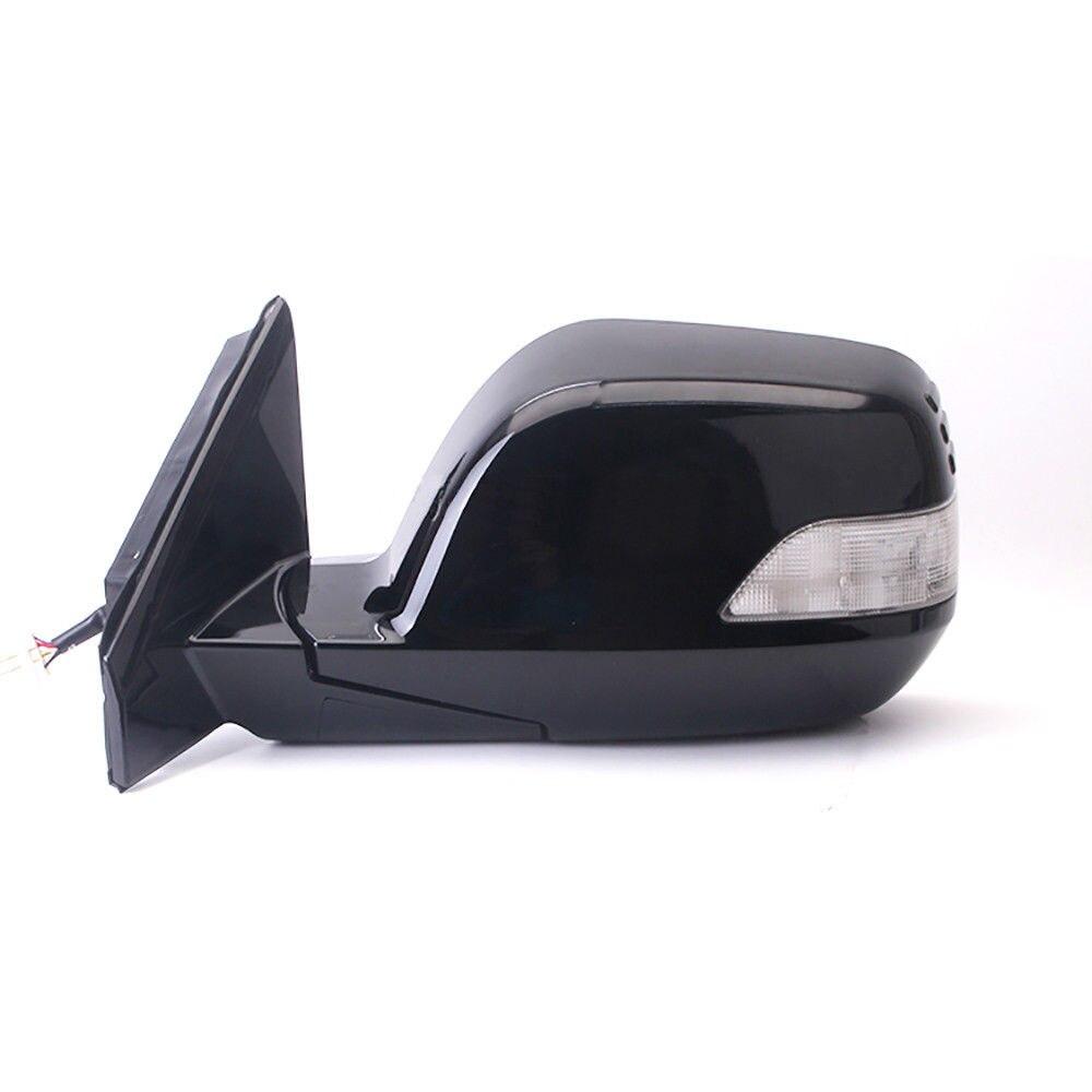 1 pièce de puissance chauffée et réglable en verre lampe à LED L/RH miroir latéral pour Honda CRV 2007-2011
