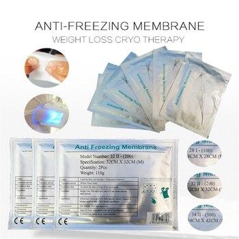 Antifreeze Membrane 28x28CM 34*42CM Antifreezing AntCryo Anti Freezing Membranes Cryo Cool Pad Anti Freeze Antifreeze Membrane