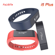 I5 плюс Smart Watch IP65 BT4.0 0.91 дюймов OLED ТПУ группа multifuctioal Интеллектуальный браслет для IOS/Android-смартфон