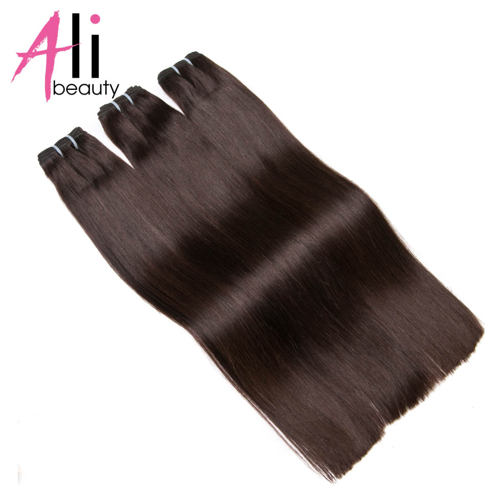 ALI-BEAUTY Straight Human Hair Weft 100% Remy Hair Extensions Weft Width 120-130cm Support Customized