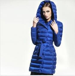 Plus Size S-Xxl Winter Jackets Women New Fashion White Duck Down Jacket Long Thick Parkas For Women Winter Free Shipping B1631