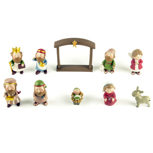 Image 3 - キリスト降誕のカントリー装飾装飾ギフトクリスチャンイエス装飾慈悲イエス