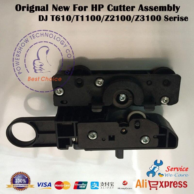 Original New Cutting knife Cutter assembly paper cutter Q5669 60713 For HP T610 T1100 Z2100 Z3100
