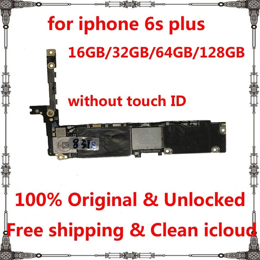 Оригинальный чистый icloud для iphone 6s plus логическая плата 16 ГБ 32 ГБ 64 ГБ 128 Гб без отпечатков пальцев для iphone 6splus материнская плата|Антенны для мобильных телефонов|   | АлиЭкспресс