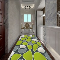 Free Shipping Creative 3D realistic water pebble floor tile decorative painting backdrop picture wallpaper mural