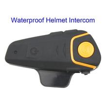 BT-S2 Водонепроницаемый Шлем Интерком мотоциклов гарнитура автоматический Bluetooth Handfree домофон и fm-радио Бесплатная доставка!