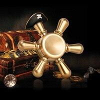 DODOELEPHANT Fidget Spinner Metal Brass Professional EDC Anti Stress Hand Spinner Fidget Toys Finger Spinner For