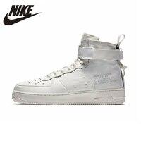 NIKE SF AF1 Mid Air Force 1 Для мужчин s и Для женщин s Баскетбольная обувь стабильность Поддержка спортивные кроссовки для Для мужчин и женская обувь
