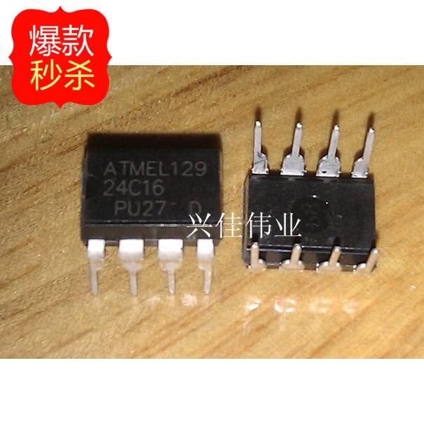 10 шт. Новый 24C16 AT24C16 AT24C16N AT24C16AN DIP 8-контактный DIP микросхемы памяти