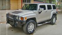 Новый автомобиль Алюминий сплав подножку Подножка Nerf педали бар для Hummer H3 2006 2007 2008 2009 2010 FedEx