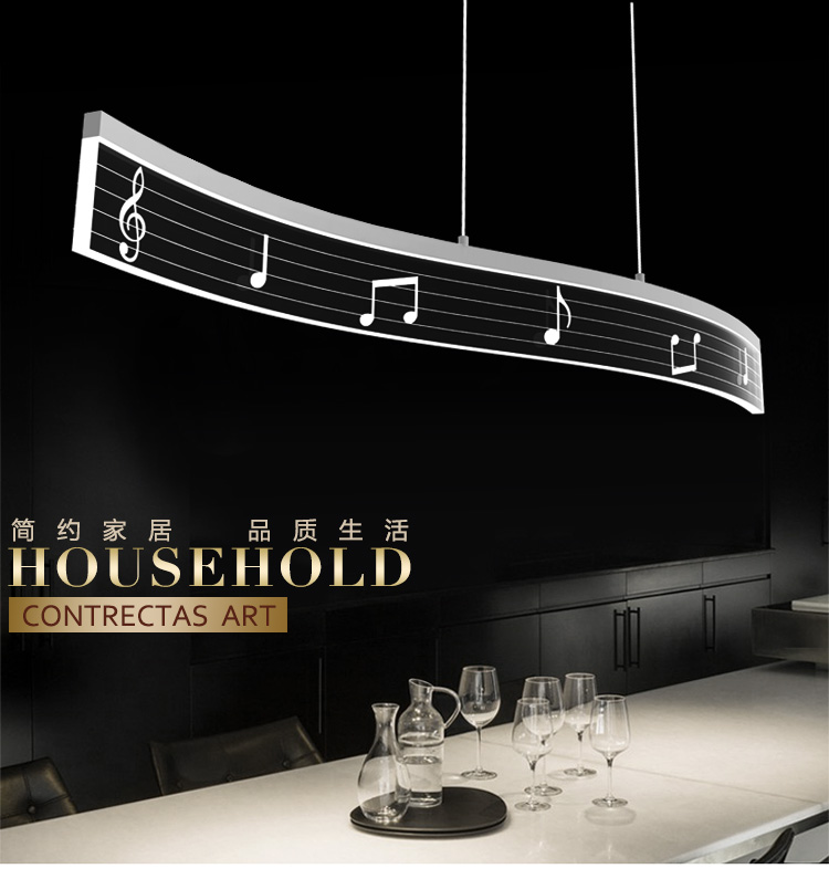 Hotel Foyer Lighting Uk : Line wave stave shape modern pendant light suspension