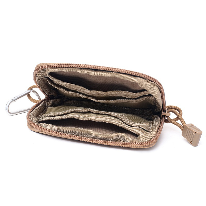 High Quality Portable Coin Purse Wallet Travel Set Coin Card Slot Tactical key Bag Cloth key Package Business Hot