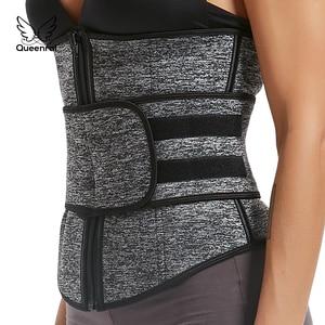 Image 4 - เอวเทรนเนอร์ body shaper Corset ผู้หญิง binder tummy shaper สายกระชับสัดส่วนชุดชั้นใน shapewear Girdle ท้องเข็มขัด