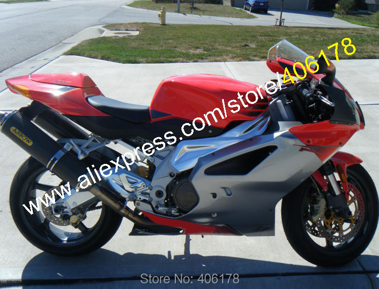 Hot Sales,2003-2006 RSV1000R Fairing For Aprilia RSV1000 2003-2006 RSV 1000 03 04 05 06 ABS Body Covers fairing kit