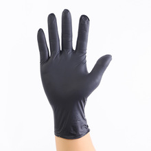 10PCS/lot  Wear Resistance  Nitrile Disposable Gloves Food Medical Testing Household Cleaning Washing Gloves Anti-Static Gloves