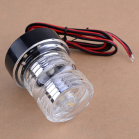 CITALL All Round 360 Degree 1pc DC 12V LED Navigation Anchor Lamp Marine Boat Yacht Light