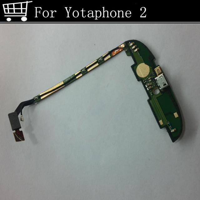 Usado testado bom para yotaphone2 yotaphone 2 placa do módulo usb doca de carregamento do porto de substituição frete grátis