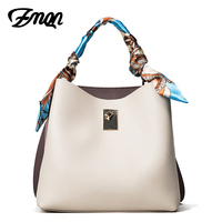 ZMQN Brand Casual Tote Bags For Women Crossbody Bag Small Bucket Scarf Compartment Sac Femme Cheap Handbag Wholesale Prices A542