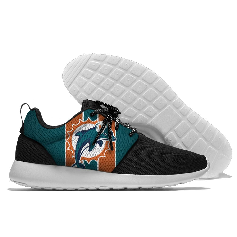 Running Shoes Lace Up Sport Shoes Dolphins Jogging Walking Athletic Shoes light weight from Miami style colour block lace up splicing athletic shoes