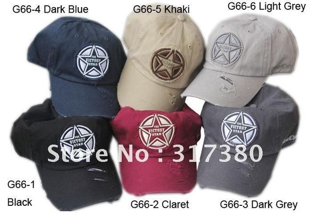 4914d75e01a Cool Fashion Embroider THE VICTORY STAR Abrasion Men Women Baseball Caps  Visor Sports Hats Spring Summer. Mouse over to ...