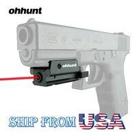 Ohhunt Kompakt Basınç Anahtarı Avcılık ile Taktik Red Dot Lazer Sight Kapsam 20mm Picatinny Ray Dağı için En Tabanca tüfekler