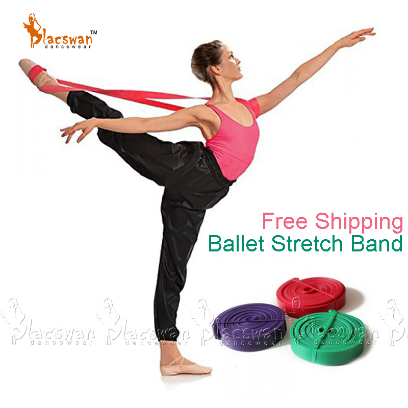 Natural Latex Rubber Elastic Stretch Loop Band For Ballet And Gym Flexibility Training Thera Band Resistance Bands 3 Strengths
