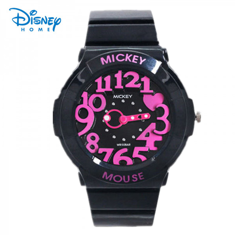 100% Genuine Disney Minnie Watch for girls military watch Digital sport Watch Waterproof Watches Reloj kids gift SP80030-3
