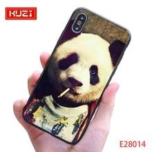KUZI Unique Design Phone Case for IPhone 6 6S 7 7Plus 8 8Plus X XS Max Cute TPU Silicone Plastic Cover Coque for IPhone 7 Case ipy i601 2 in 1 design tpu plastic case for 4 7 iphone 6 black gold