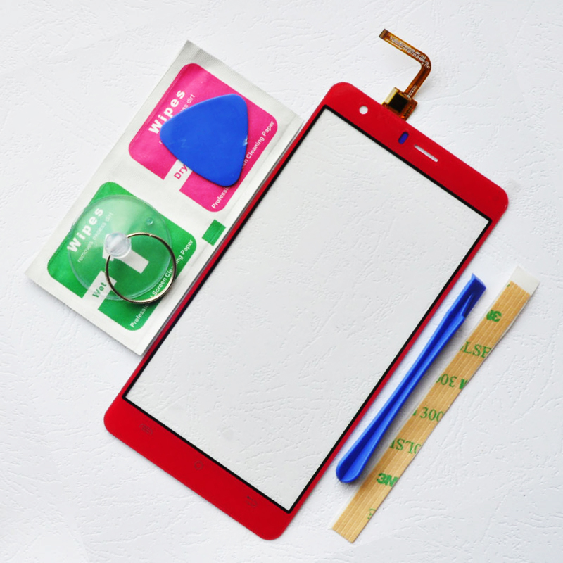 ZUCZUG 5.0''Touch Screen Digitizer Sensor For BQ5503 BQ 5503 Nice 2 Mobile Touch Panel Front Outer Front Glass Lens Sensor+Tools