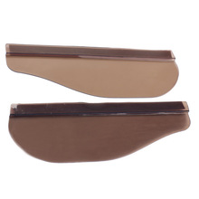 2PCS Flexible Car Wing Mirror Rain Shield