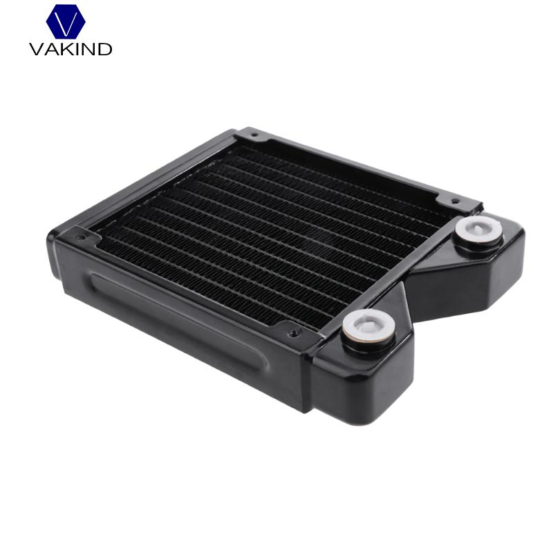 120mm Water Cooled Exchanger Water Cooling Radiator Computer Heat Sink Radiator Computer Heat Sink 240mm water cooling radiator g1 4 18 tubes aluminum computer water cooling heat sink for cpu led heatsink heat exchanger
