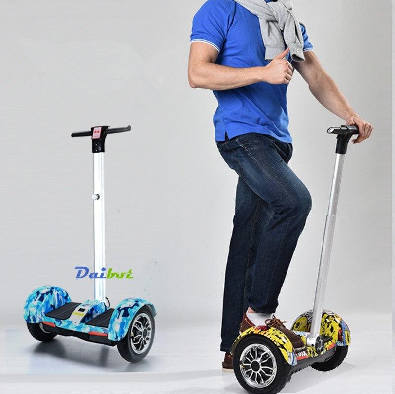Самобалансирующийся скутер 4.0Ah большая емкость батареи Максимальная нагрузка 100 кг алюминиевый сплав красивый вид светодиодный Большой Пе... - 5