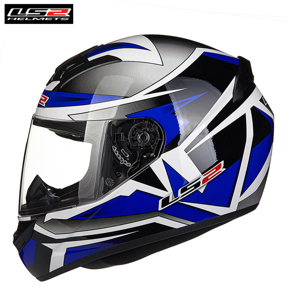 LS2 Helmets FF352 Rookie Motorcycle Full Face Helmet Casco Capacete de motociclista Scooter Casque Men Women ls2 helmet