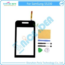 New Touch Screen Digitizer For Samsung S5230 Touchscreen Sensor Touch Panel With Free Tools