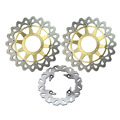 Arashi Front Rear Brake Disc Rotors Set For Honda 2006 2007 CBR1000 & 2000 2001 VTR1000 RC51 SP1