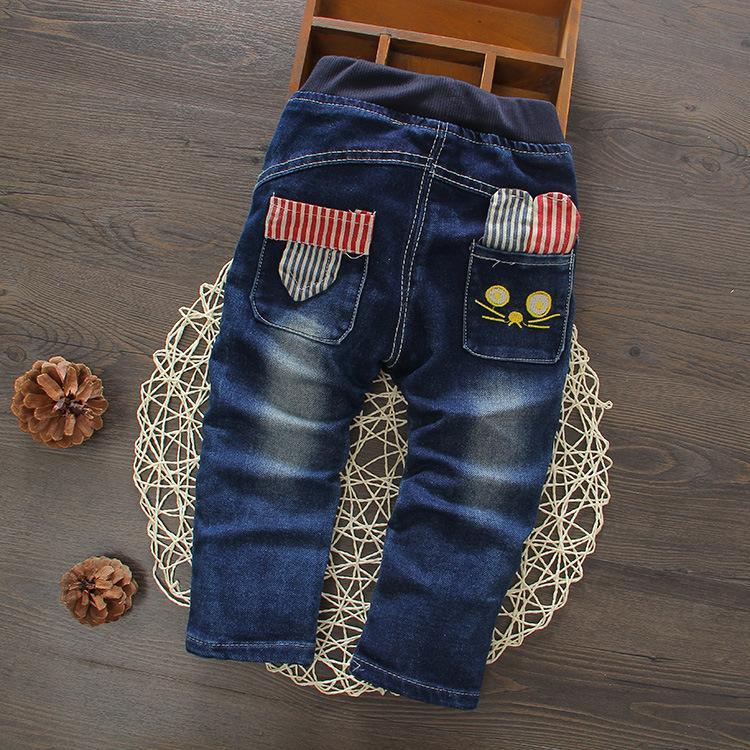 Pengiriman gratis musim gugur musim semi anak laki-laki celana jeans - Pakaian anak anak
