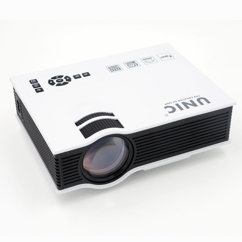 2015 Newest Original UNIC UC40 + Projector Mini Pico Portable Proyector 3D Projector HDMI Home Theater Beamer Multimedia Video