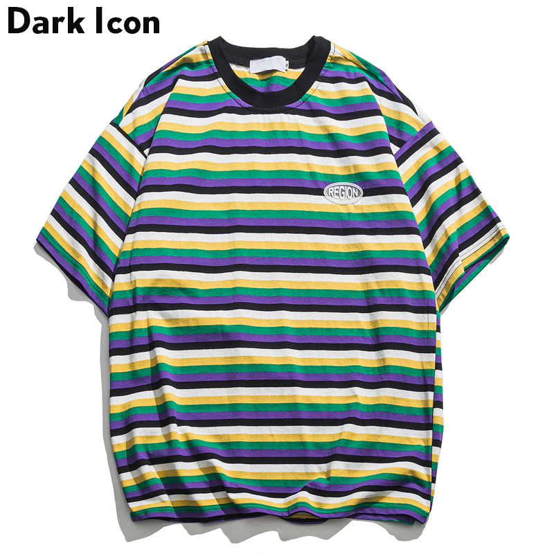 ICON Mens Tops Tee Casual T-Shirt Cotton Short Sleeve Crew Neck Basic Casual New