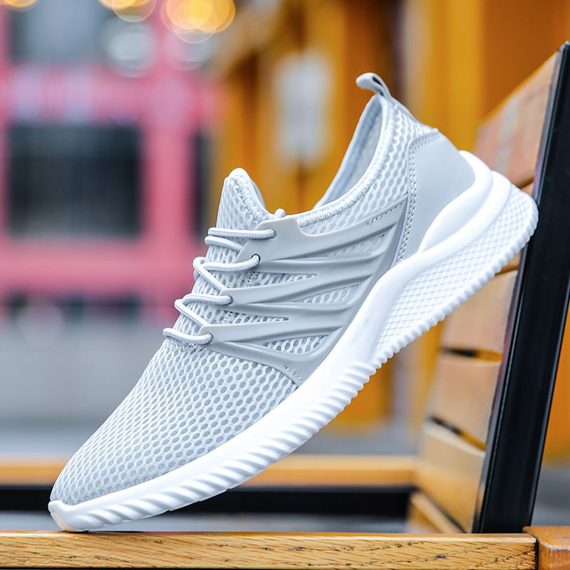 2019 Summer Men Shoes Super Lightweight Breathable Couple Casual Shoes Plus Size 45 Men Sneakers Summer Zapatillas Hombre in Men 39 s Casual Shoes from Shoes