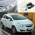 Для Opel Corsa D 2006 2007 2008 2009 2010 2011 галогенные фары Отлично Ультра яркое освещение CCFL Angel Eyes комплект