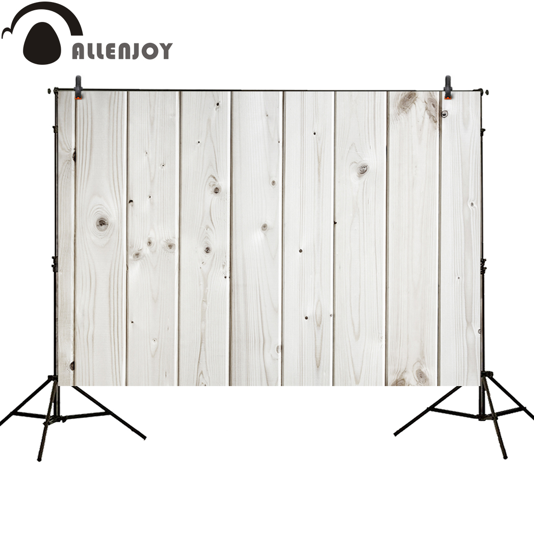 Allenjoy photography background white wood floor baby neat new backdrop photocall photobooth photo studio high quality allenjoy photography backdrop brick wall wooden floor white baby shower children background photo studio photocall